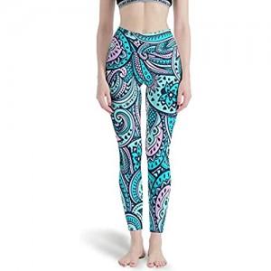 Generic branded Mandala Damen Lange Glatte Leggings Papular Yoga Hose Yoga Design Capris Strumpfhosen für Laufen