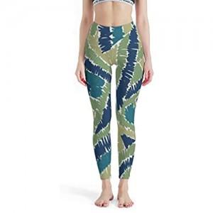 Generic branded Modische Damen-Leggings mit künstlerischem Muster bequeme Yogahose dehnbare Capri-Strumpfhose für die Schule