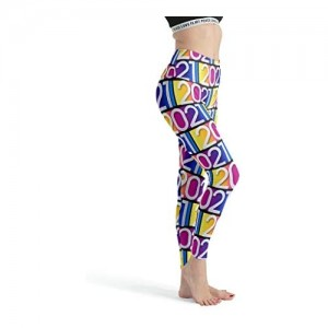 Xuanwuyi 2021Damen atmungsaktive Leggings Workout Yoga Hose Workout Custom Capris Strumpfhosen für Yoga