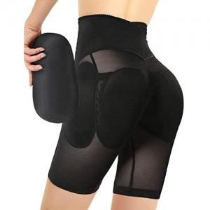 Ceestyle Damen Butt Lifter Höschen Hüfte Push Up Hose Po Gepolstert Hip Enhancer Shapewear Miederslip Padded Seamless Miederhose Figurformender Miederpant Unterhose
