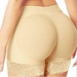 H Tomorrow Damen Butt Lifter Höschen Hüfte Push Up Hose Po Gepolstert Hip Enhancer Shapewear Miederslip Padded Miederhose Figurformender Miederpant Unterhose