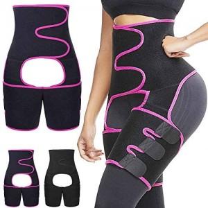 OUTFANDIA Damen Butt Lifter Taille Trainer Booty Hip Enhancer Bauch Kontrolle unsichtbar Body Shaper Beine Oberschenkel Trimmer Unterstützung Gürtel