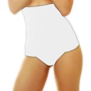 r-dessous 2 Stück Figurformende Bauchweg String Tanga hoch Mieder Slip Hose Damen Unterwäsche Shapewear Shaper