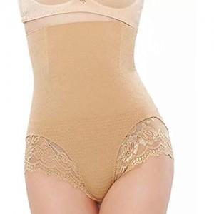 FGJH Taille Trainer Butt Lifter Höschen Body Shaper Abnehmen Unterwäsche Shapewear Bindemittel Modelliergurt Getay Bauchgürtel 329 (Color : Beige Size : X-Large)