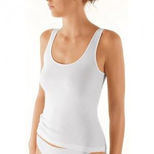 Nina von C. 3er Pack Damen Achselhemd - Serie Daily - Unterhemd 100% Baumwolle - Achsel-Top Feinsatin - Champagner - Größe 44