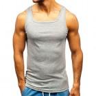 BOLF 3er- 4er Pack Multipack Herren Tank Top Unterhemd Muskelshirt Shirt Rundhals Baumwollmischung Modellauswahl Unifarben 3C3