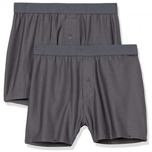 Essentials Herren 2-Pack Breathable Quick-Dry On-The-go Boxer Boxer-Shorts