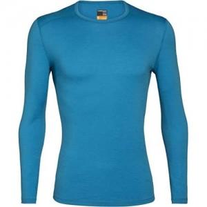 icebreaker Mens 200 Oasis Ls Crewe Thermo-Shirt für Herren