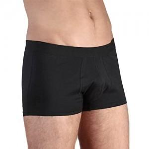 ALBERO 2 er Pack Herren Trunk Short Bio-Baumwolle Boxershort Retroshort Unterhose