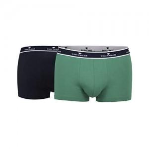 TOM TAILOR Herren Hip Pants blau Melange 2er Pack