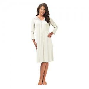 e.FEMME® Damen Nachthemd Lena II 860 aus Baumwolle und Lenzing® Modal