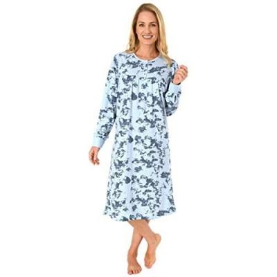 NORMANN WÄSCHEFABRIK Elegantes Damen Nachthemd mit Bündchen und Kopfleiste am Hals - 291 210 90 192