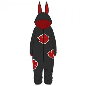 YSHANT Naruto Akatsuki Uchiha Itachi Cosplay Kostüme Frauen Mann Pyjama Bademantel Erwachsene Kinder Warm Thicken Jumpsuits Anzüge