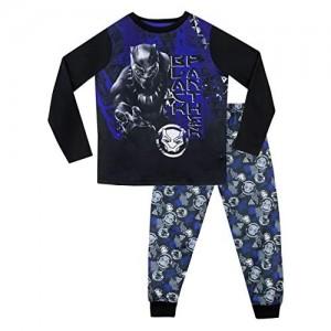 Marvel Jungen Black Panther Schlafanzug