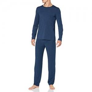 Schiesser Herren Personal Fit Schlafanzug Lang Pyjamaset