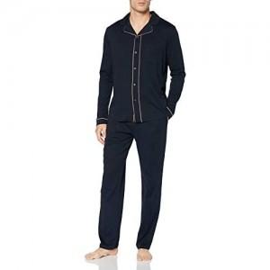 Schiesser Herren Pyjama Lang Pyjamaset