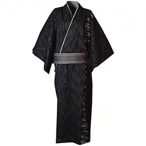 Double Villages Herren Japanisch Yukata Kimono Robe Pyjama Yukata Bademantel Robe