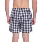 Hawiton Herren Schlafshorts Karriert Pjamahose Kurze Schlafanzughose Baumwolle Plaid Shorty Nachtwäsche Sommer Loungewear Freizeithose für Schlafzimmer Urlaub Sport