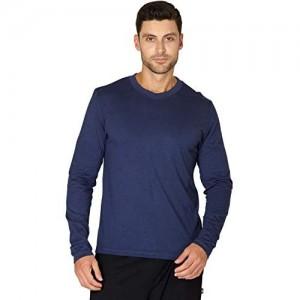 INTIMO Herren Super Soft Rayon Cotton Blend Pyjama Sleep Top mit Rundhalsausschnitt