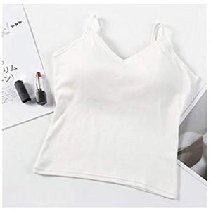 WDSFT Schöner Zurück Bügel-Weste Wilder Wear-Schlauch-Oberseite Wrapped Chest Zurück Sexy grundiert Shirt Frauen-Unterwäsche (Color : 7)