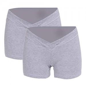 Huixin Damen Umstandsmode Slip Schwangerschafts Niedrig Baumwolle Unterwäsche Elegante Taille Unterhose Panty Für Unterhalb 2
