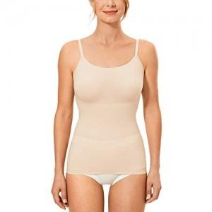 LAUDINE Damen Figurformender Unterhemden Tops Shapewear Bauchweg